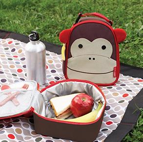 Skip Hop Zoo 动物园系列 儿童午餐包 小猴款$8.99,