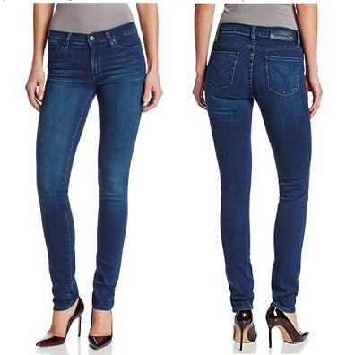 历史新低价!! Klein Jeans Ultimate Skinny 女式紧身牛仔裤$34.99,