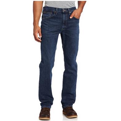 Lee Premium Select 经典版型 男式直筒牛仔裤$25.37,