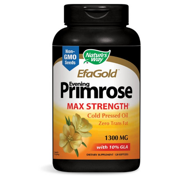 Natures Way Evening Primrose 月见草油胶囊120粒$12.85,